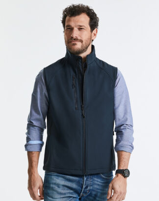 141M Men's Softshell Gilet, Russell