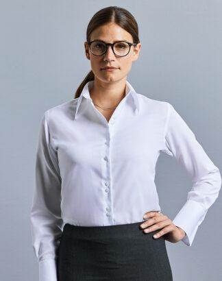 956F Ladies Long Sleeve Ultimate Non-Iron Shirt
