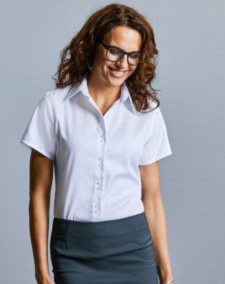 957F Ladies Short Sleeve Ultimate Non-Iron Shirt