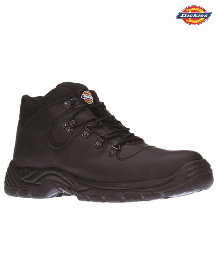 WD108 Fury Safety Hikers, Dickies, Black