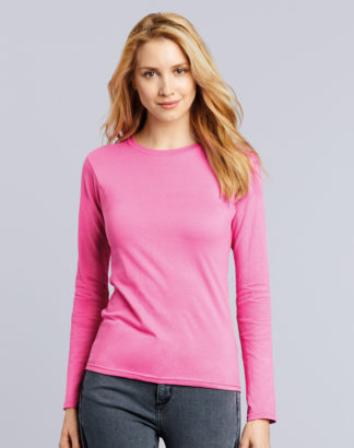 GD76 Ladies Long Sleeve Softstyle T-Shirt