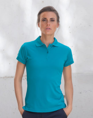 Henbury, H476 Ladies CoolPlus Poloshirt