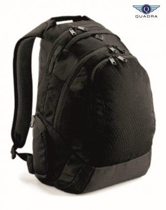 QD905 Vessel Laptop Backpack, Quadra, Black