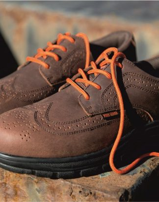 RS345 Managers Brogue, Result Work Guard, Brown