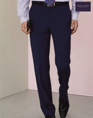 8387 Avalino Trouser, Mid Blue