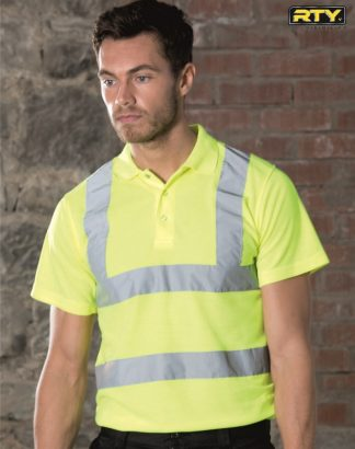 HV70 High Visibility Polo Shirt, RTY