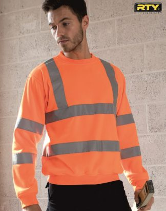 HV73 High Visibility Sweatshirt, RTY